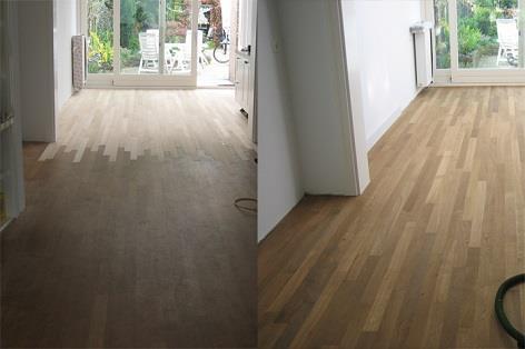 aanleggen van nieuwe vloer