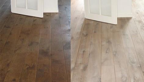 opschuren oude vloer